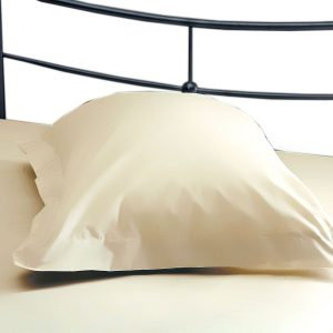 Belledorm 200 Thread Count Polycotton Oxford Pillowcase Cream