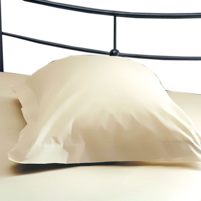 Belledorm 200 Thread Count Polycotton Oxford Pillowcase Cream