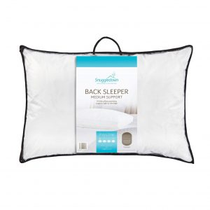 Snuggledown Back Sleeper Pillow