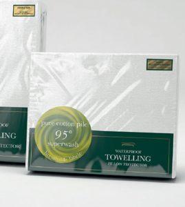 Slumberfleece Waterproof Towelling Pillow Protector