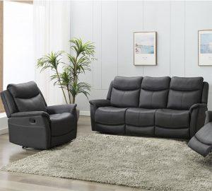 Ancona 2 Seater Sofa - Slate