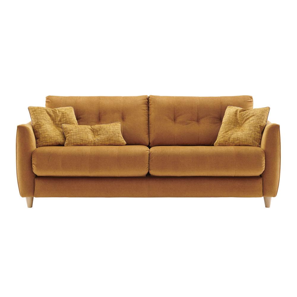 G Plan Nancy Large Sofa LHF