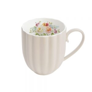Jardin Royale Cream Mug 300ML