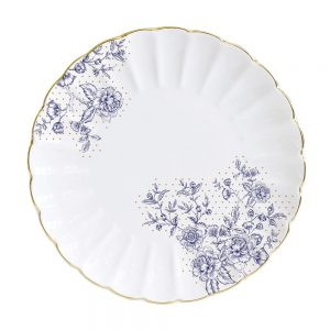 Blue Peonies Side Plate 19cm