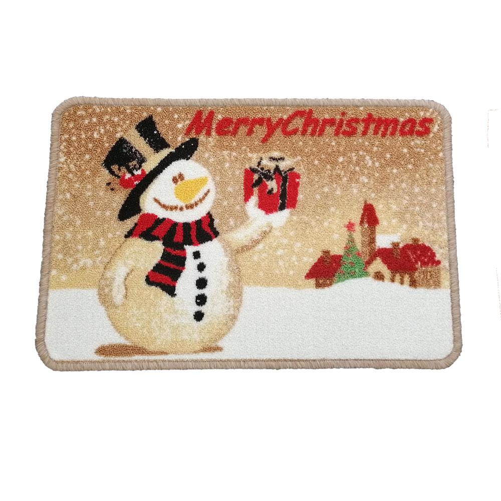 Christmas Gold Mat - Merry Christmas