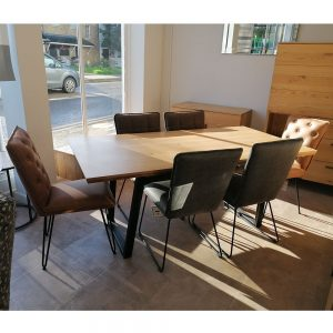 Scala Table & 6 Dining Chairs