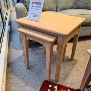 New England Nest of 2 Tables