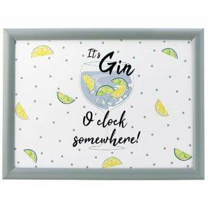 Gin O'Clock Lap Tray