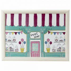 Ashley Thomas Sweet Shop Lap Tray