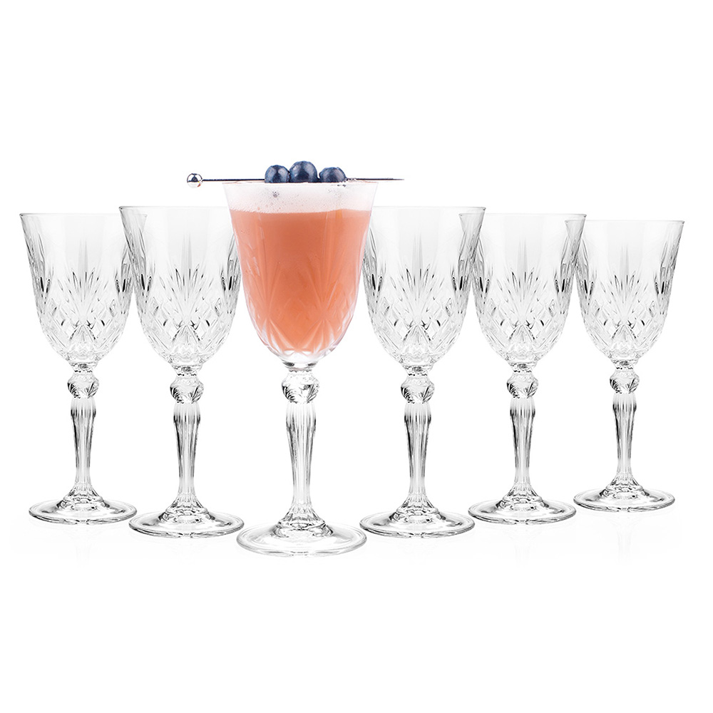 Melodia Set of 6 Wine Glasses