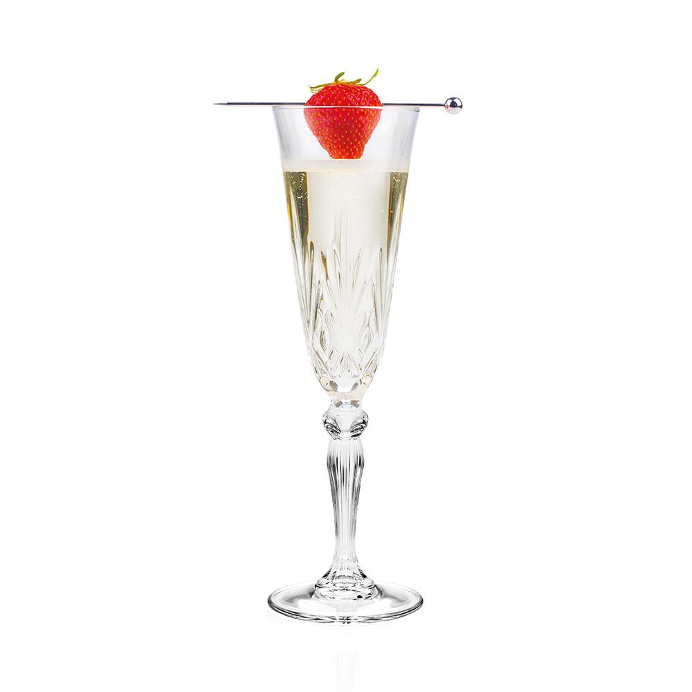 Melodia Set of 6 Champagne Glasses