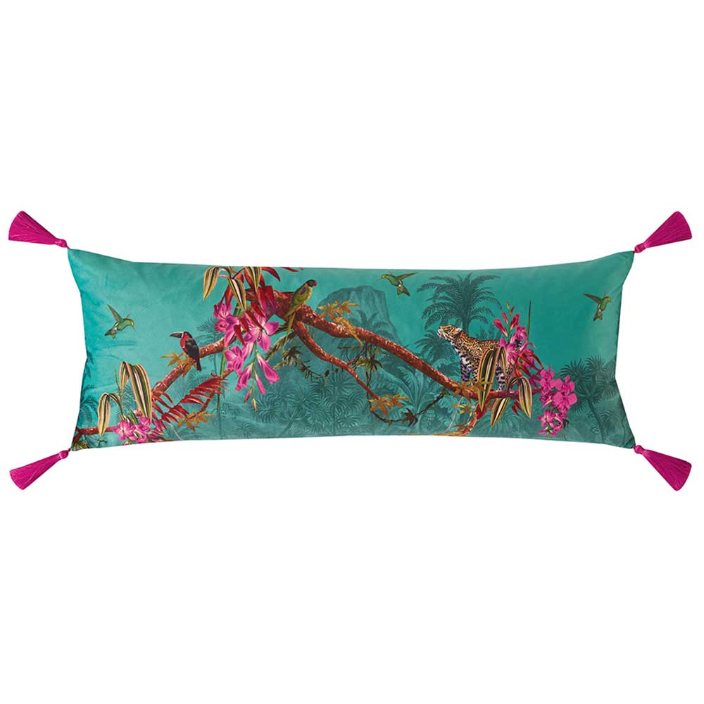 Ted Baker Hibiscus Bolster Cushion 30 x 80