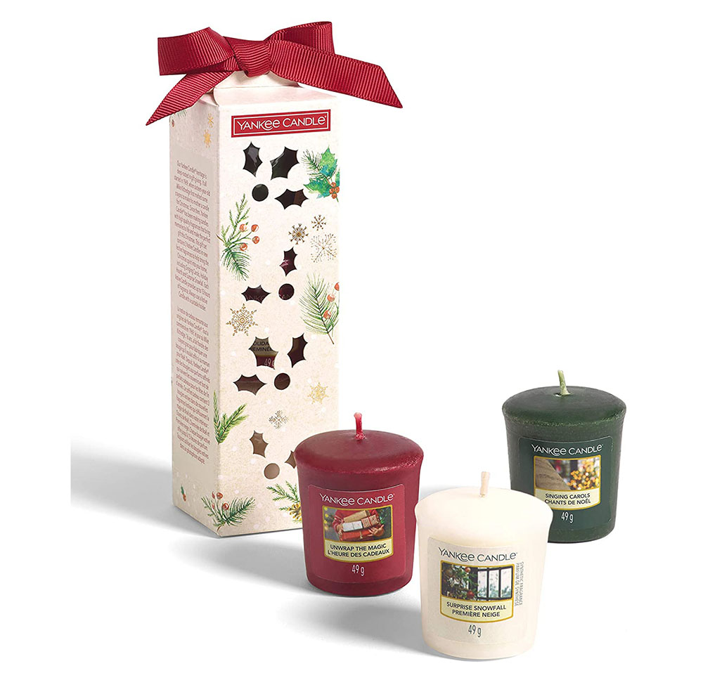 Yankee Candle 3 Votive Candle Set