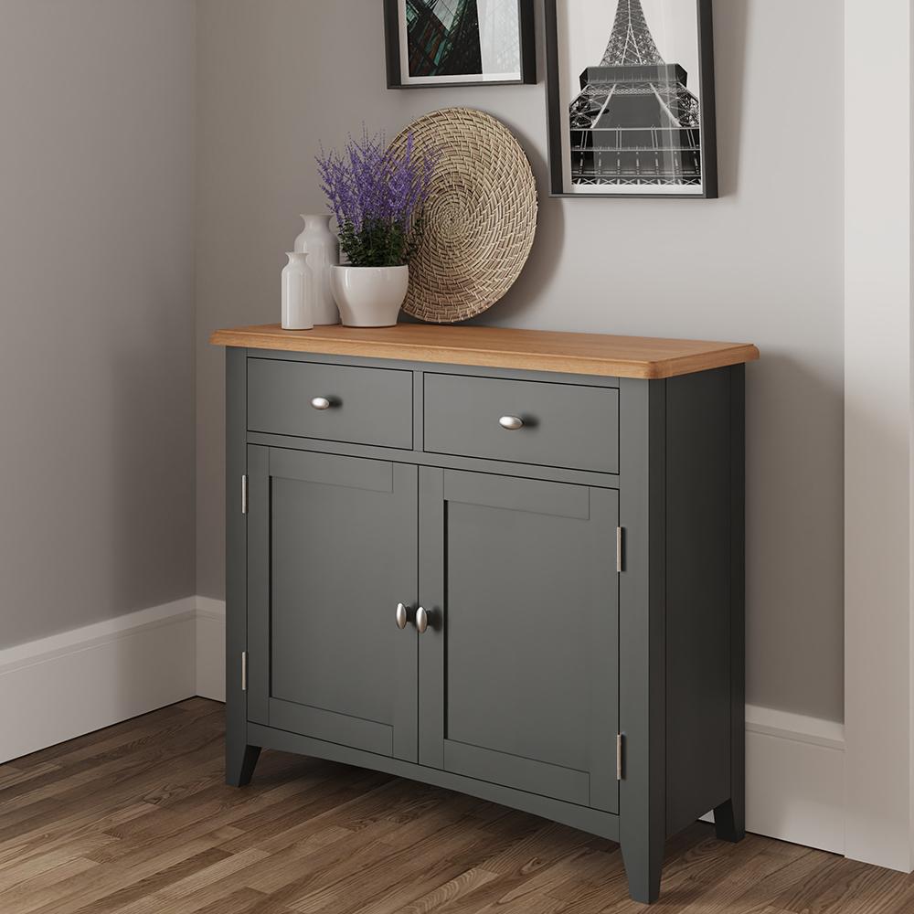 Hurstley Grey Sideboard