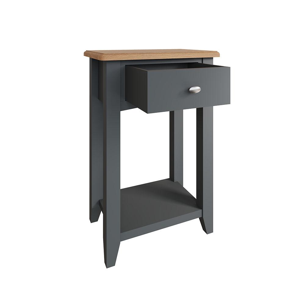 Hurstley Grey Telephone Table
