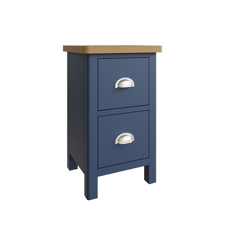 Childon Blue Small Bedside Chest
