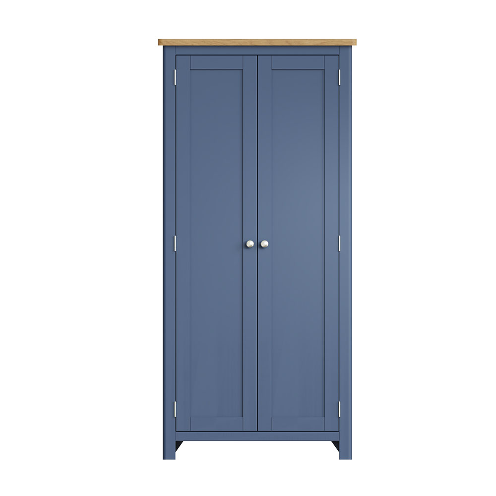 Childon Blue Full Hanging Wardrobe