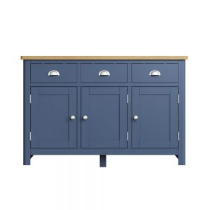 Childon Blue 3 Door Sideboard