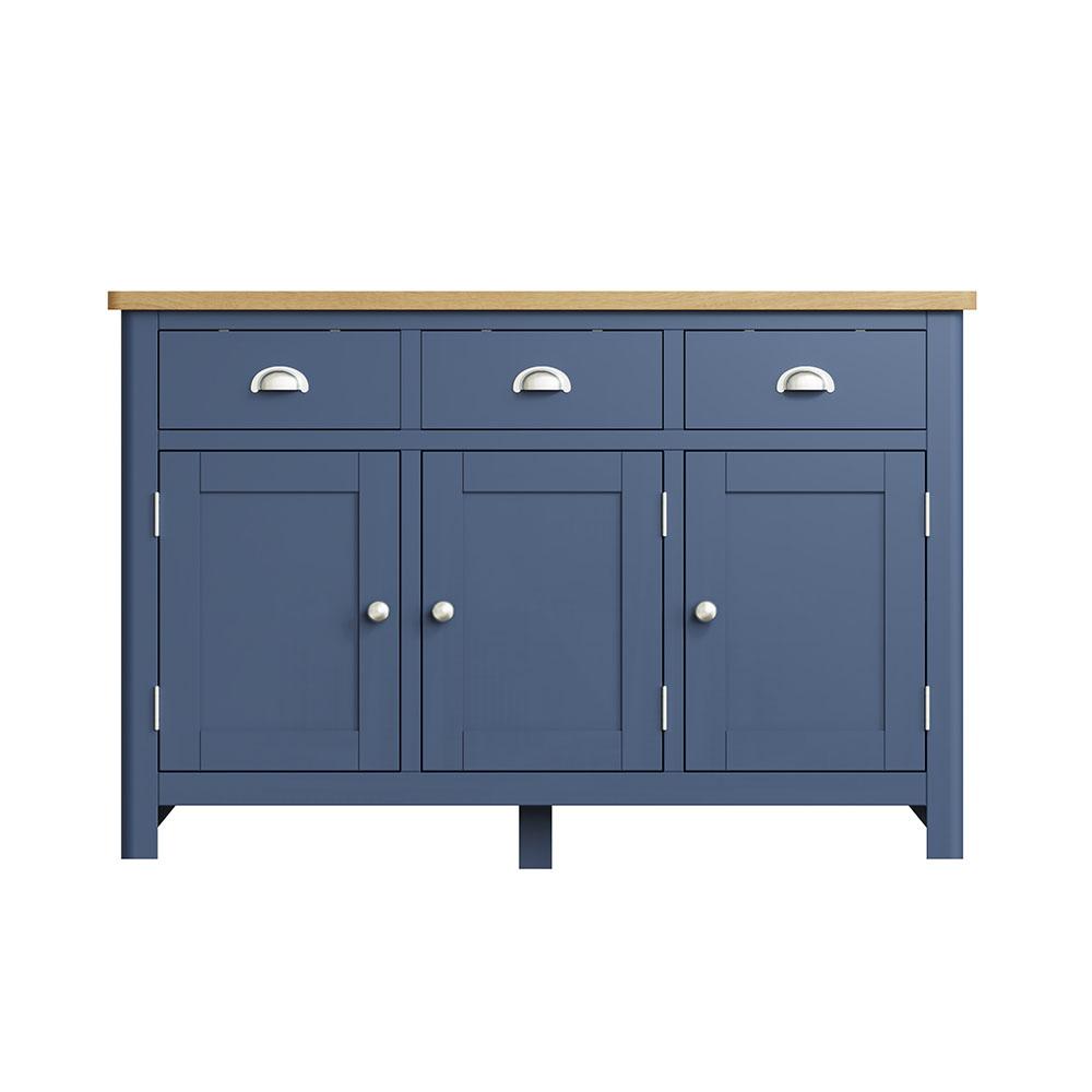 Childon Blue 3 Door Sideboard