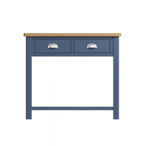 Childon Blue Console Table