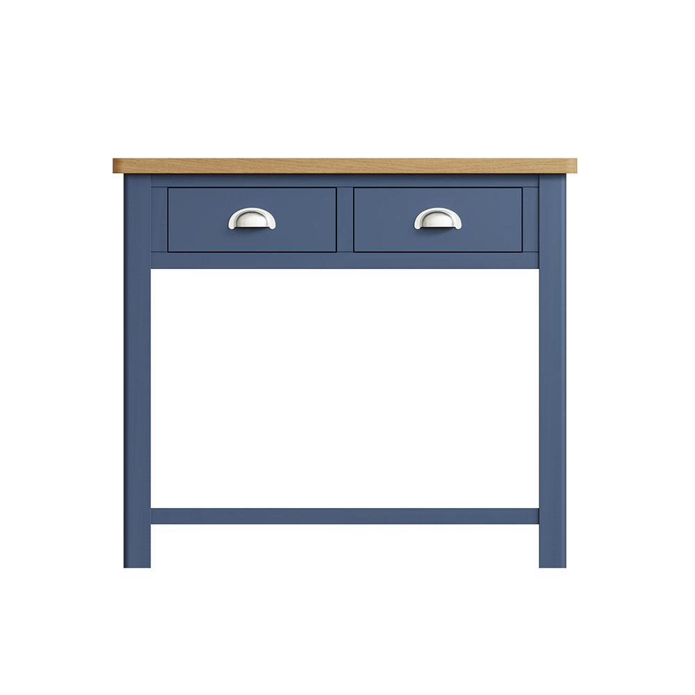 Childon Blue Console Table
