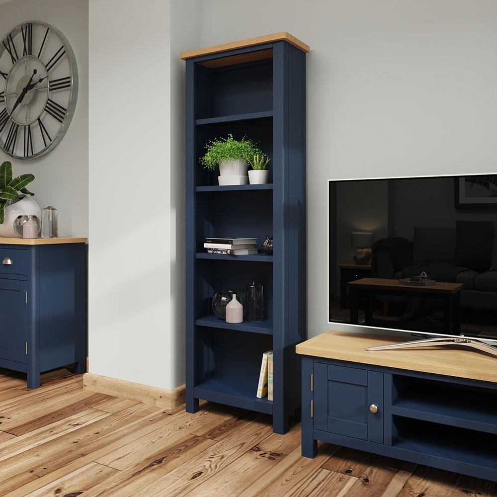 Childon Blue Large Bookcase