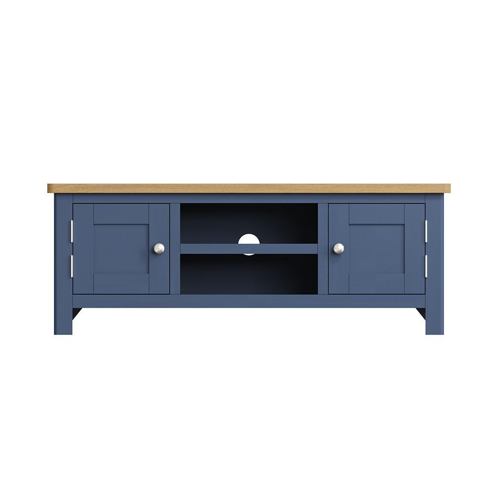 Childon Blue Large TV Unit