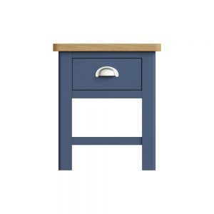 Childon Blue 1 Drawer Lamp Table