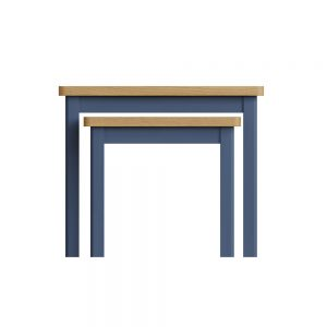 Childon Blue Nest of 2 Tables