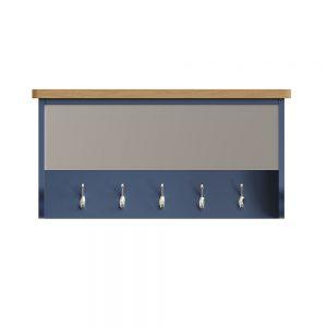 Childon Blue Hall Bench Top