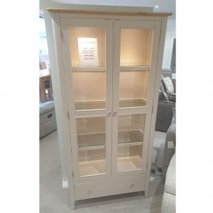Woodley Painted Display Cabinet