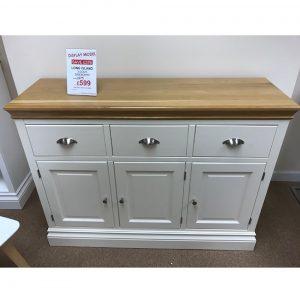 Long Island Ivory 3 Drawer Sideboard