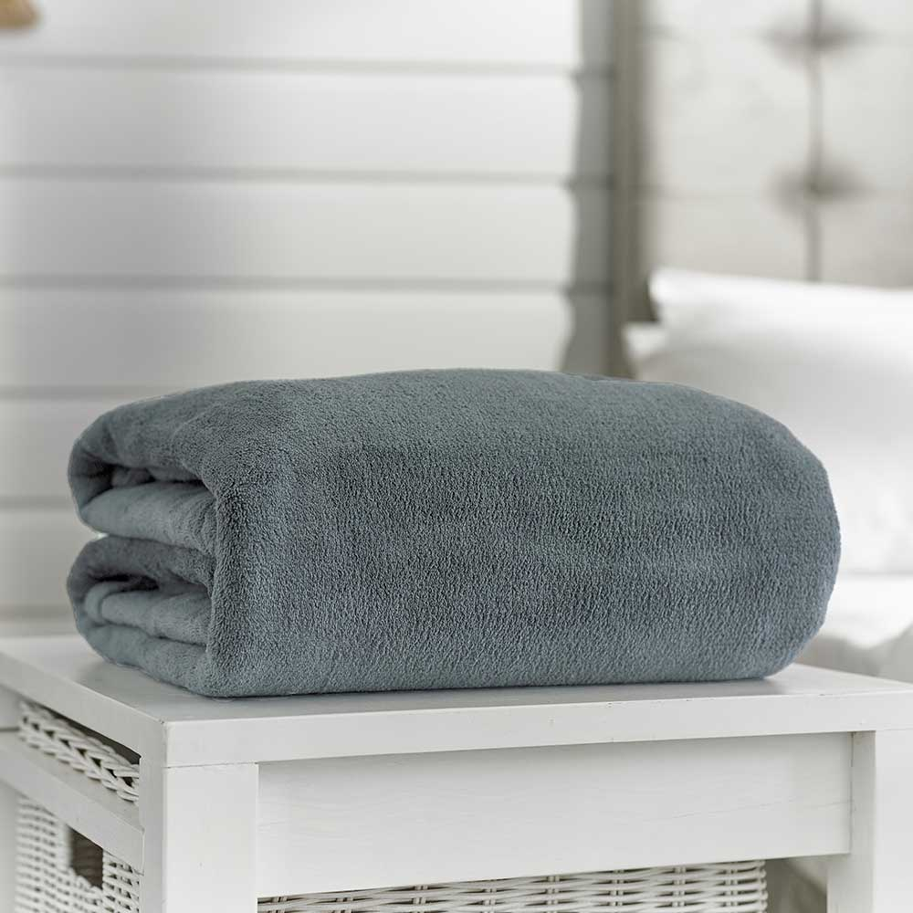 Snuggle Touch Throw 200x240 Grey