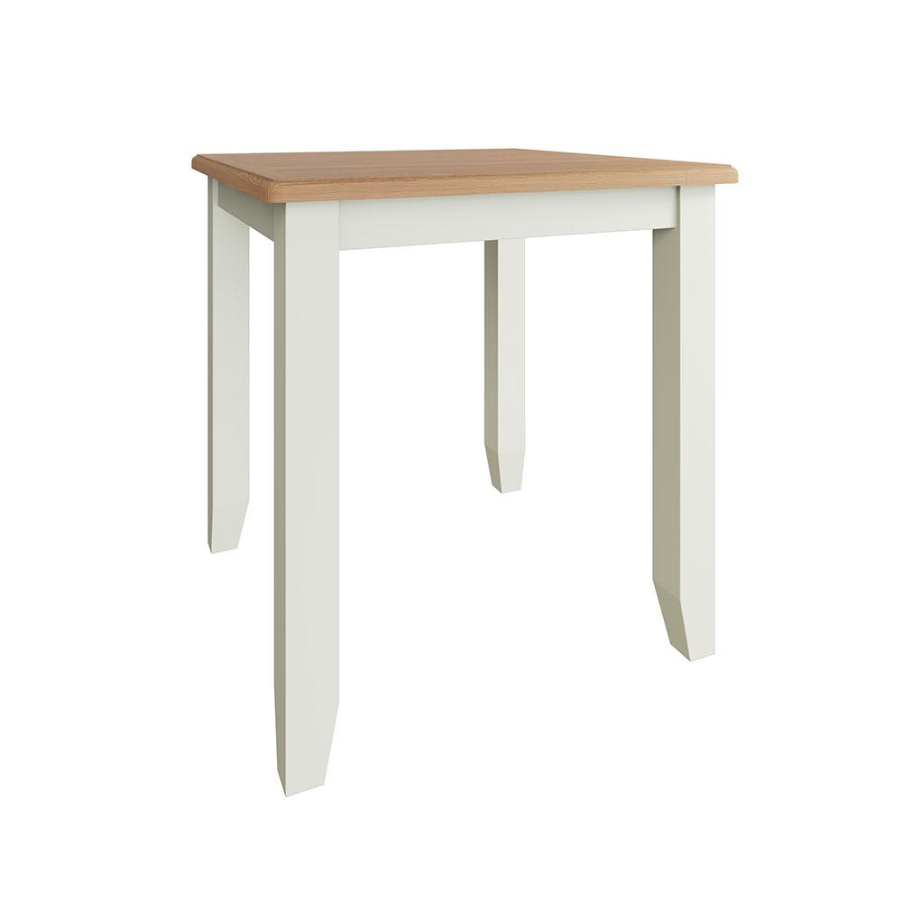 Hurstley White Fixed Top Table
