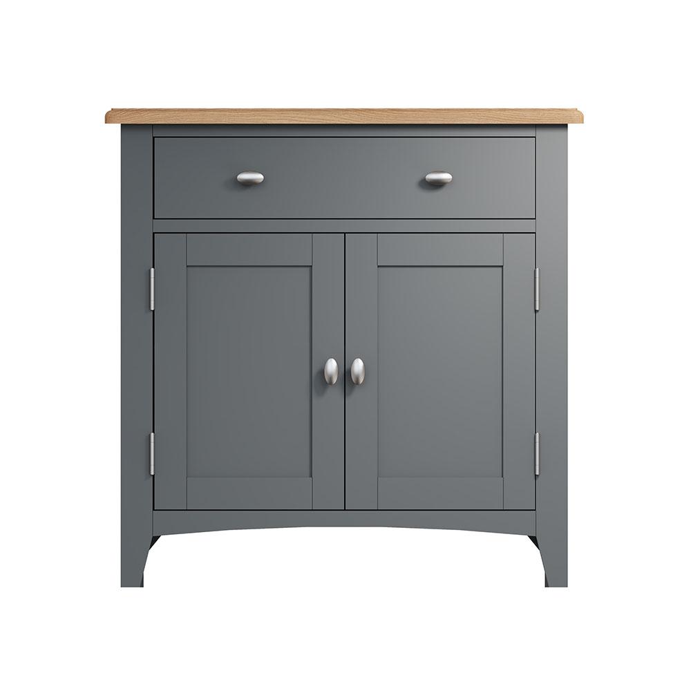 Hurstley Grey Small Sideboard