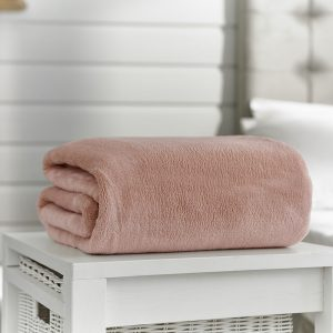 Deyongs Snuggle Touch Throw 200x240 Pink