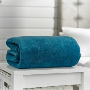 Deyongs Snuggle Touch Throw 140x180 Peacock