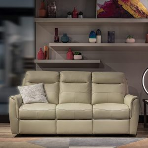 Longford Power 3 Seater Sofa in Oyster 2515