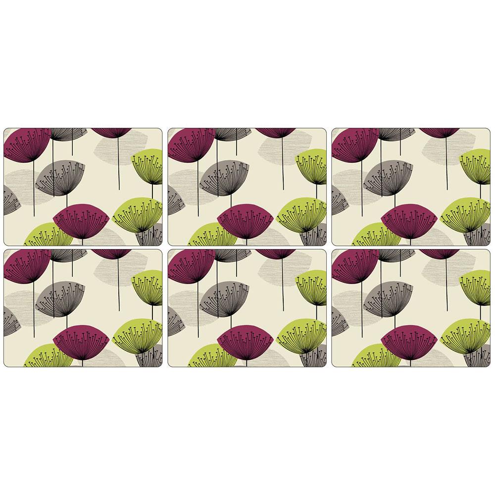 Pimpernel Dandelion Clocks Placemats Set of 6