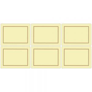 Pimpernel Classic Cream Placemats Set of 6