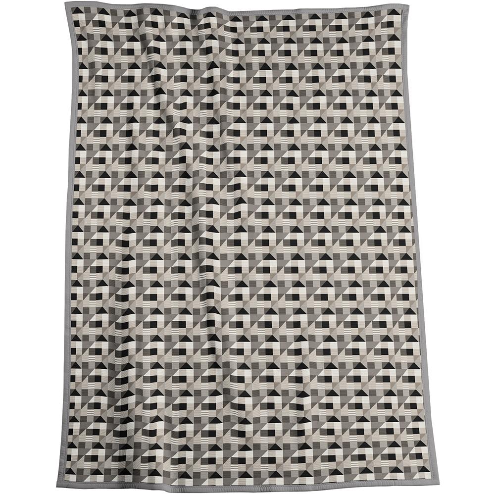 Biederlack Abstract Grey/Natural