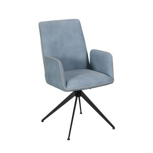 Rebecca Office Chair - Blue