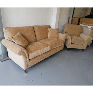 Parker Knoll Burghley Large 2 Seater and Chair Set