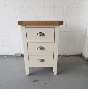 Henley White Large Bedside Chest