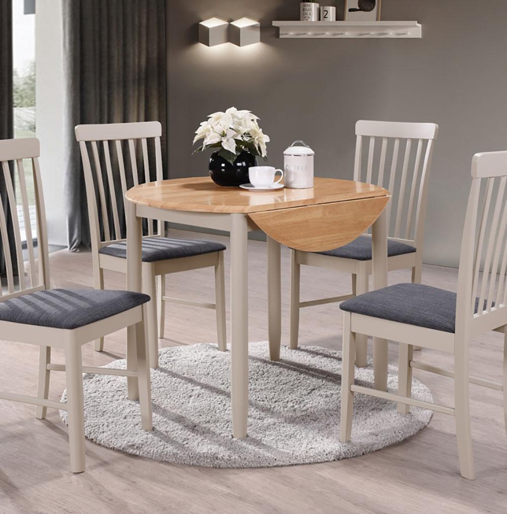 Arundel Round Drop Leaf Dining Table, Drop Leaf Dining Room Table