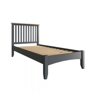 Hurstley Grey Single 90cm Bedstead