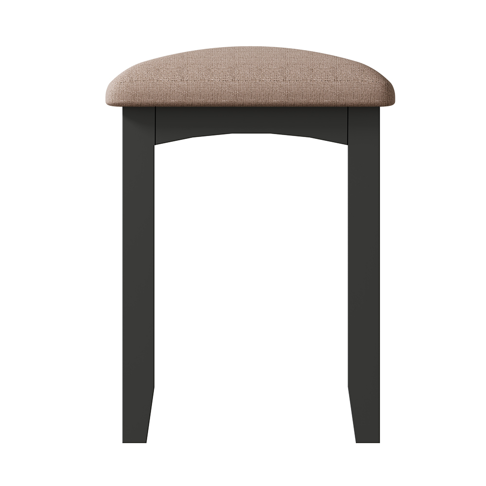 Hurstley Grey Stool