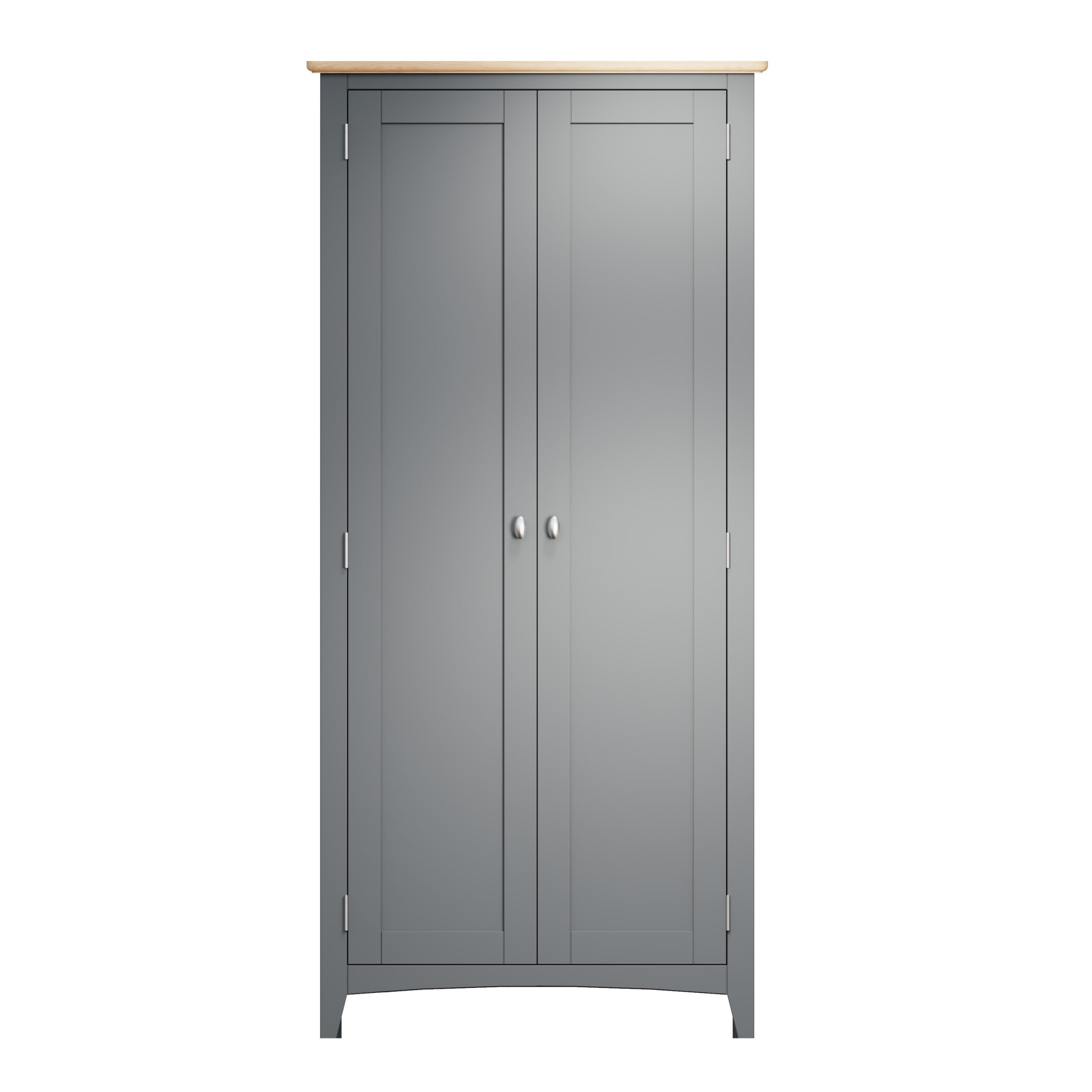 Hurstley Grey Full Hanging Wardrobe