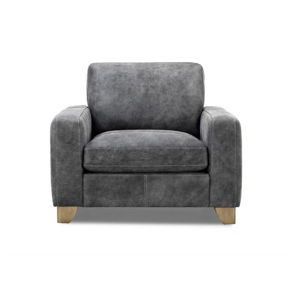 Marylebone Armchair in Sanded Charcoal