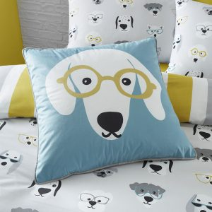 Catherine Lansfield Cool Dogs Filled Cushion 43 x 43